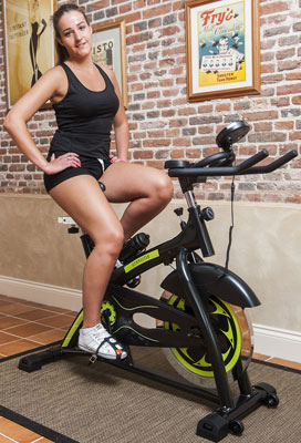 Gym Master Home Workout Exercise Bike